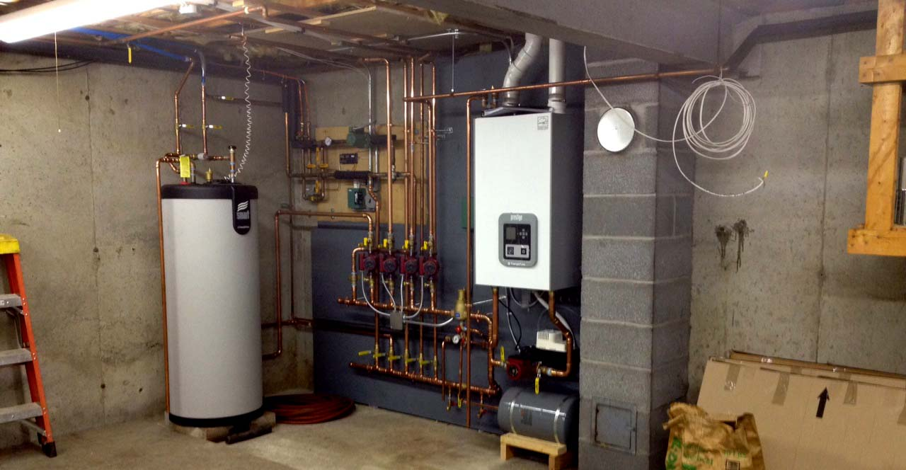 Gas heating systems gas boiler